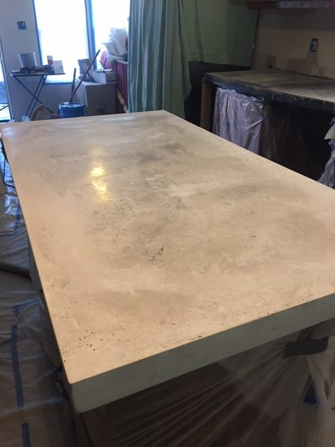 polished concrete counter 4